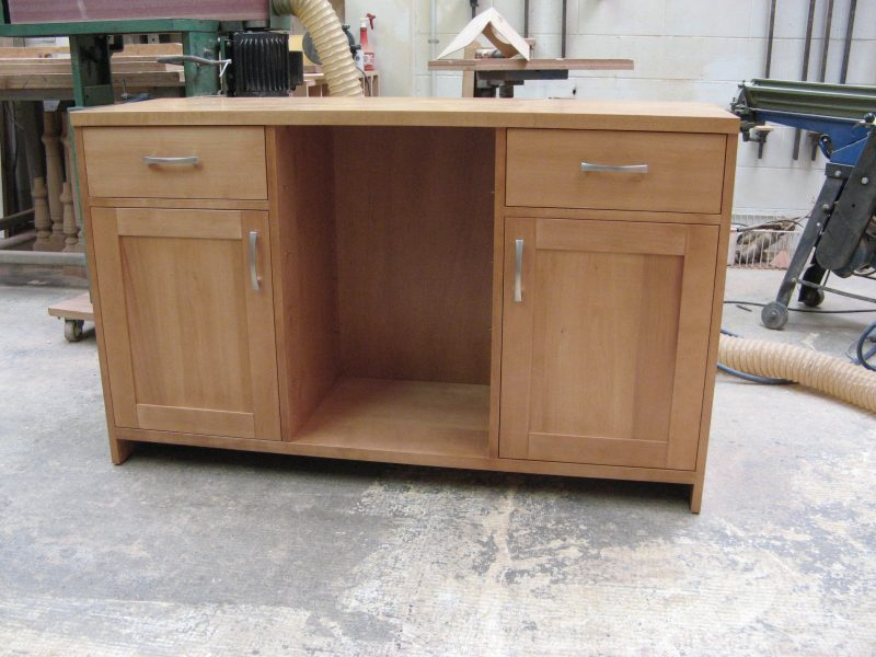 Custom Beech Buffet