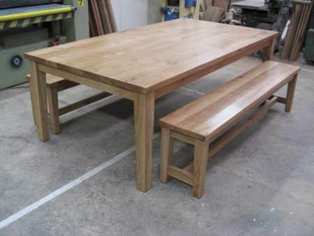 Table with Bench Seats