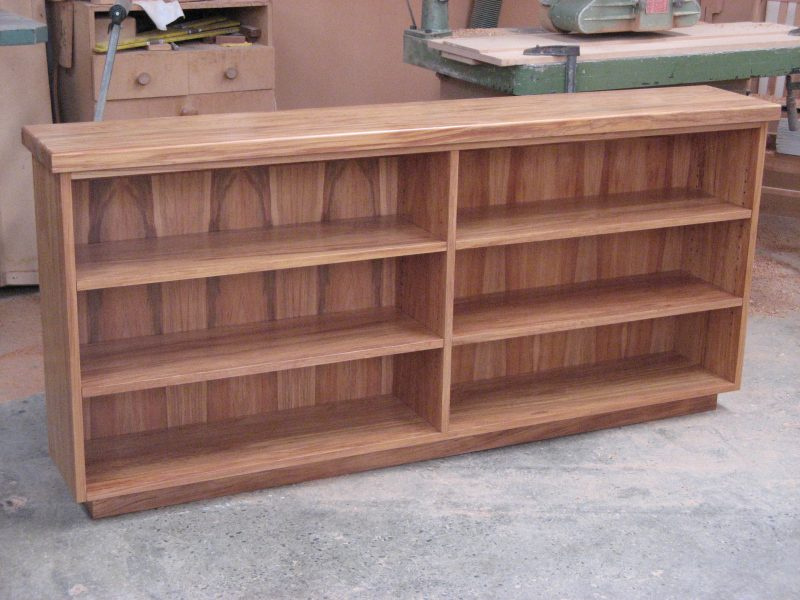 Low Rimu Bookcase