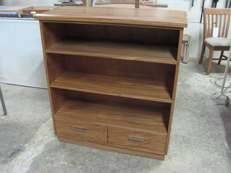 Small Bookcase with Drawers