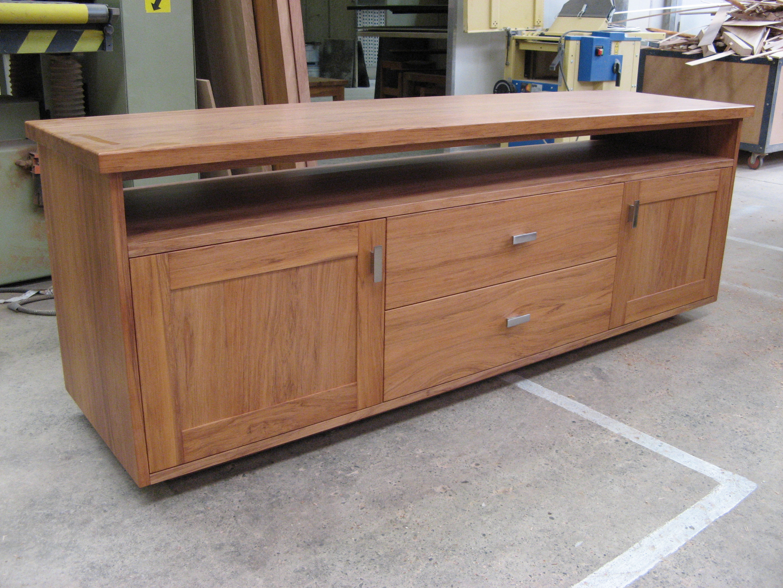 Modern Rimu Entertainment Cabinet Gavin Cox Furniture