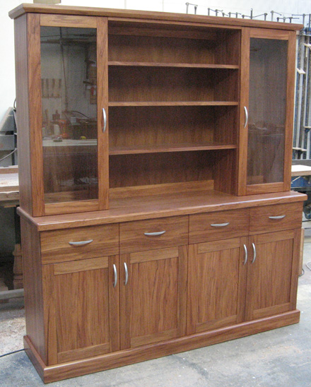 Four Drawer Hutch Dresser