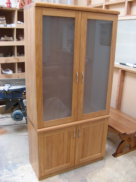 Flush Top Hutch Dresser